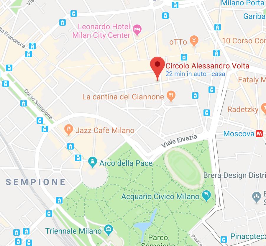 Circolo-Volta-Google-Maps-StandBridgeItaly